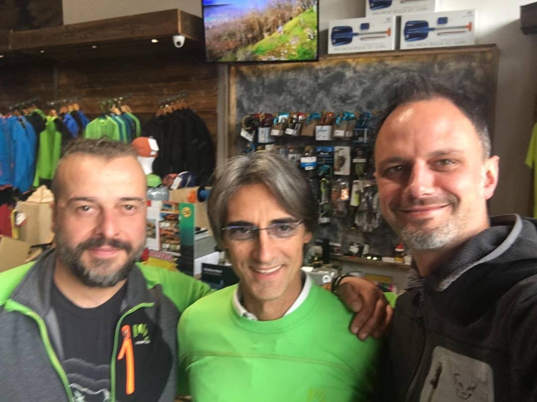 Enrico e Luca di Sevent Summit Sport